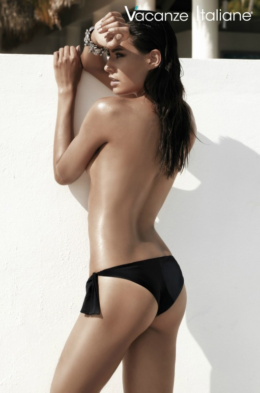 Vacanze Italiane Collectie 2015 Swimwear Bikini Broekje Zwart