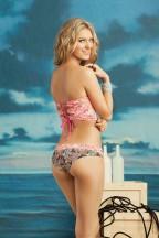 Maaji Flamingo Harbour Bandeau Bikini Achterkant