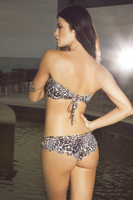 Paradizia Majestic Bandeau Bikini Achterkant