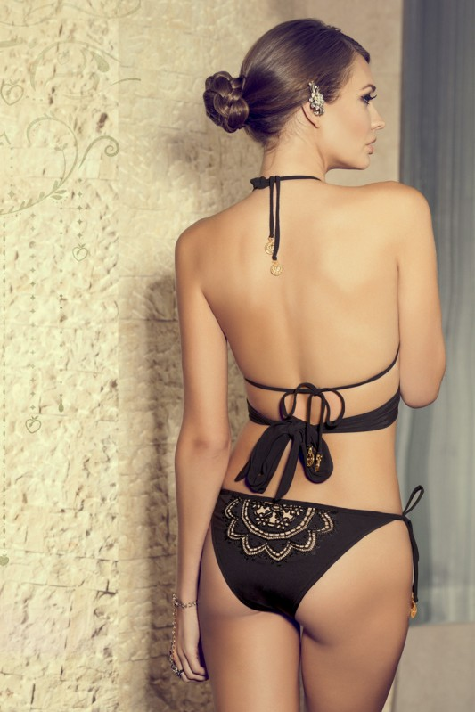 Paradizia Arabian Nights Triangle Bikini Achterkant