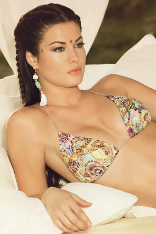 Paradizia Dreams Triangle Bikini Closeup