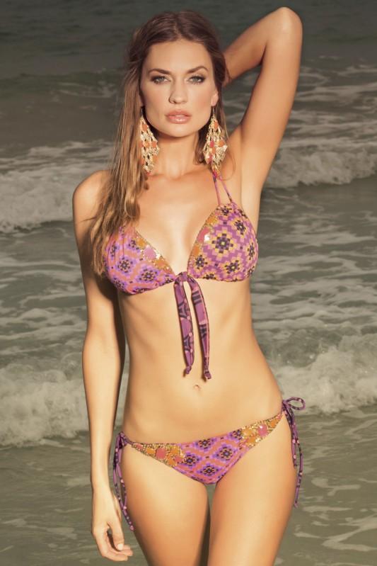 Majestic Bindi Triangle Bikini Voorkant