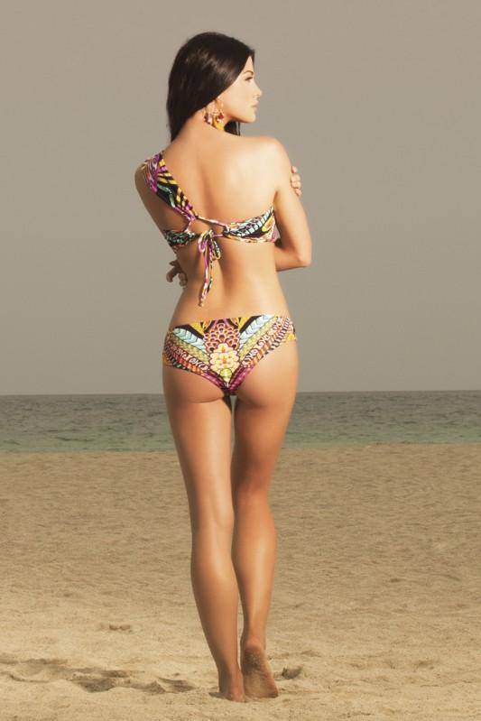Paradizia Majestic Oasis Bandeau Bikini Achterkant