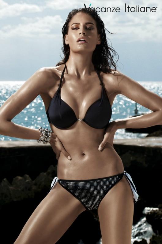 Vacanze Italiane Collectie 2015 Bikini Zwart Black Beachwear